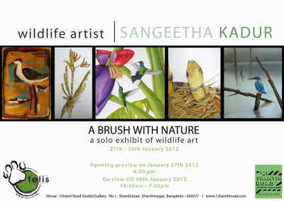 'A brush with nature'